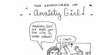Anxiety Comes in Many Forms (Psst! You're Not Alone!)