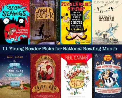 11 Young Reader Picks for National Reading Month