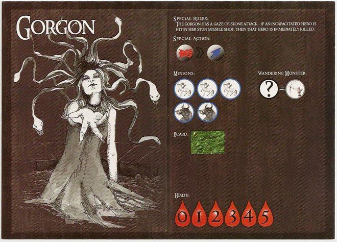 Catacombs Gorgon