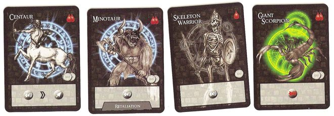Catacombs Monster cards