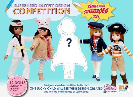 Lottie Dolls Is Running a Super(hero) Costume Contest!