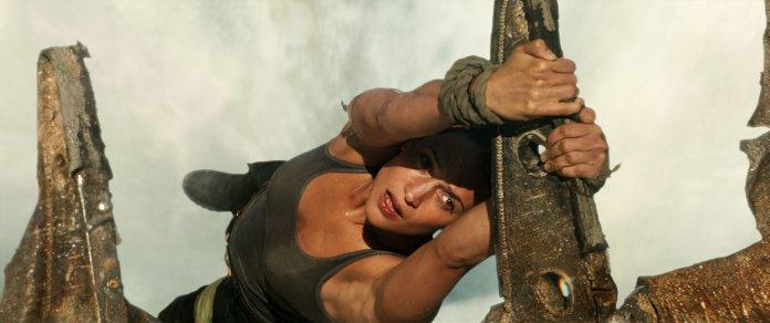 Η Alicia Vikander ως Lara Croft στο Tomb Raider