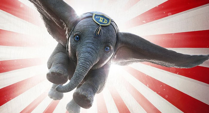 YOUTUBE Dumbo Review - by Shannon Gibson - Geekdom-MOVIES!