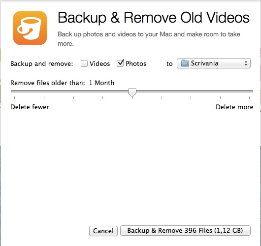 PhoneExpander - Fai un backup ed elimina vecchie foto e video