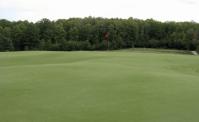 Par 4 13th - Green