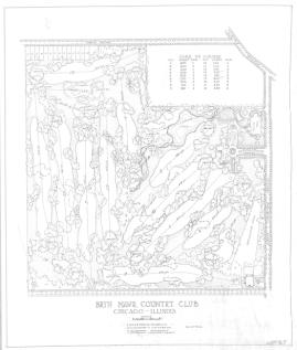 Original Langford & Moreau course map.