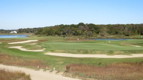National Golf Links of America #6 (photo by GolfTripper, on Twitter @ItinerantGolfer)