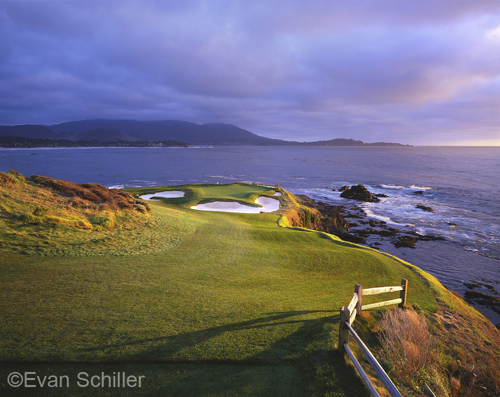 Pebble Beach #7 (photo by Evan Schiller, on Twitter @Evan_Schiller)