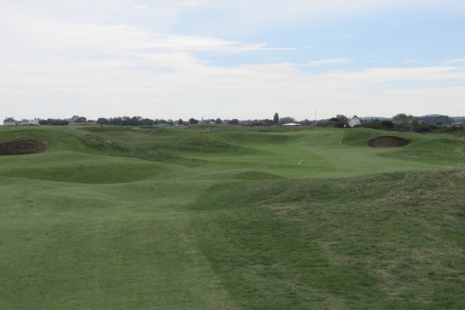 The linksland of Royal Cinque Ports