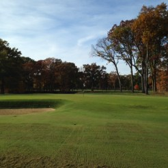 #10 - The Road Hole bunker might not be as severe as the original, but recovery is no less challenging.