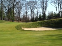 #11 - The greenside bunker is even deeper than it appears