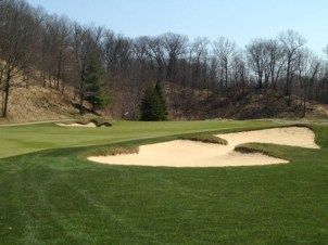 #17 - Right side fairway bunker