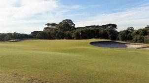 Royal Melbourne West #7 (photo by Ran Morrissett from GolfClubAtlas)