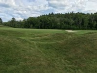 #1 - Par 4 - Mounds left of the green