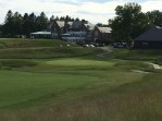 #18 - Par 4 - The green from the right hill