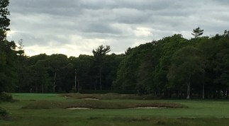 #12 - Par 4 - Tee view of fairway hazards