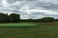 #6 - Par 4 - Green back view showing the change in terrain
