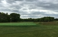 #6 - Par 4 - Green back view showing the change in terrain