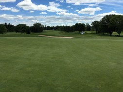 #12 - Par 3 - View back to the tee