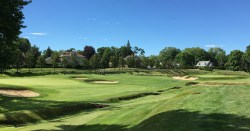#2 - Par 4 - The second and third greens