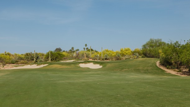 f18f449be30065 DM  The 6th hole is defined by a gaping Lion s Mouth bunker fronting the  middle of the green the back of which forms a large mound that divides the  green in ...