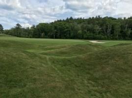 #1 - Par 4 - Mounds left of the green