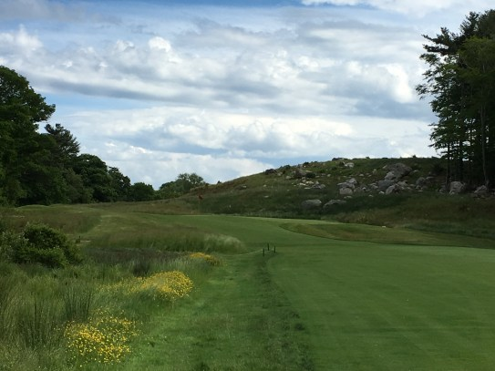 #13 - Par 4 - Approaching the green from the left