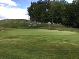 #13 - Par 4 - Mounds left of the green