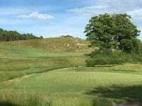 #18 - Par 4 - Green back up the hill
