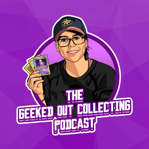 Geeked Out Collecting Podcast Texture Banner