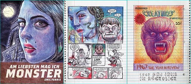 Die Graphic Novel des Jahres: Am liebsten mag ich Monster!