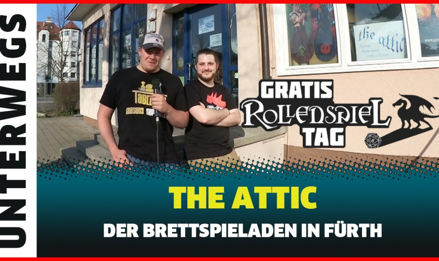 The Attic der Brettspielladen in Fürth