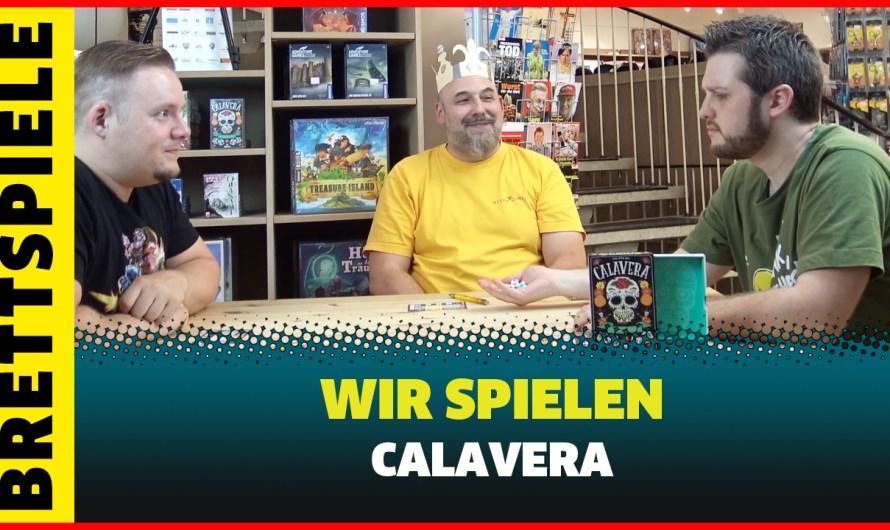Calavera Würfelspiel angespielt mit Regelerklärung von Moses Verlag