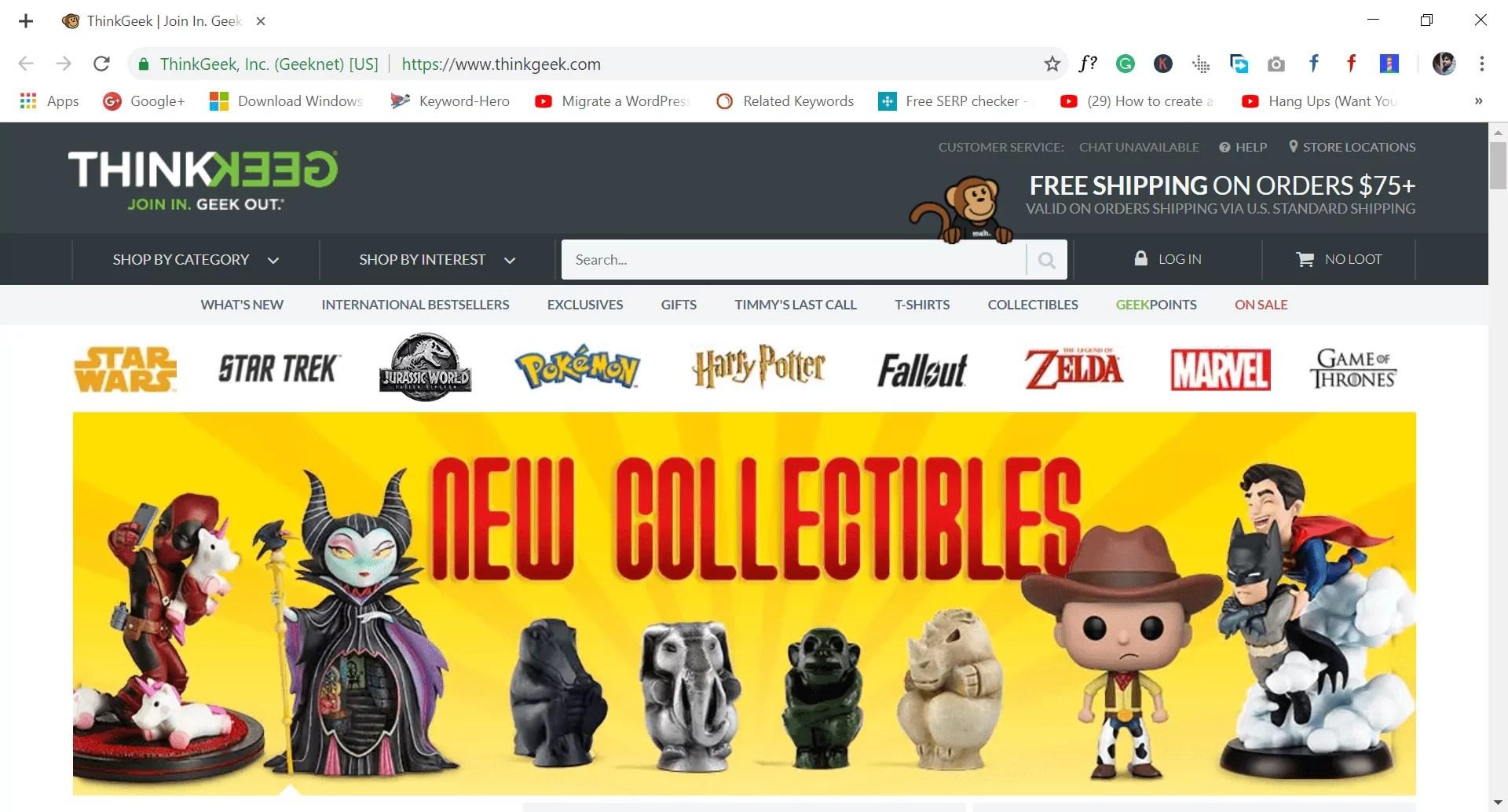 34 Best Online Shopping Sites Like 2019