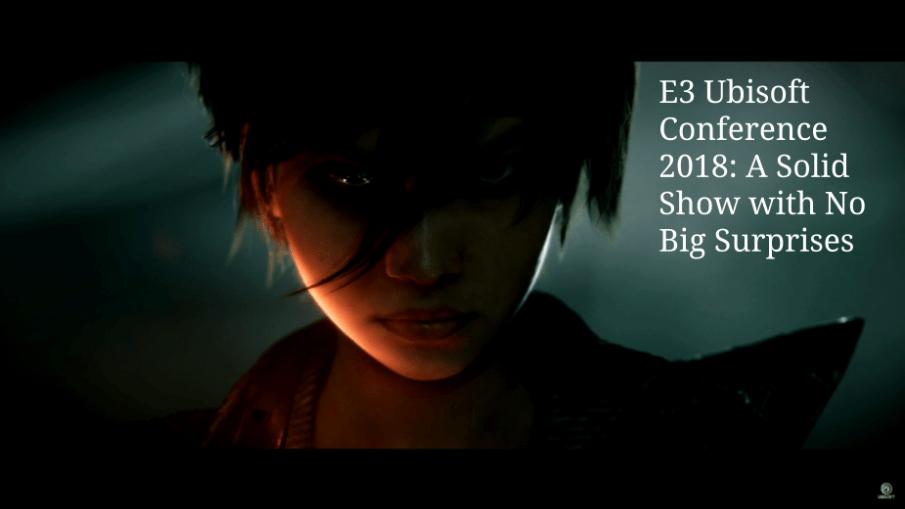 E3 Ubisoft Conference 2018 Title