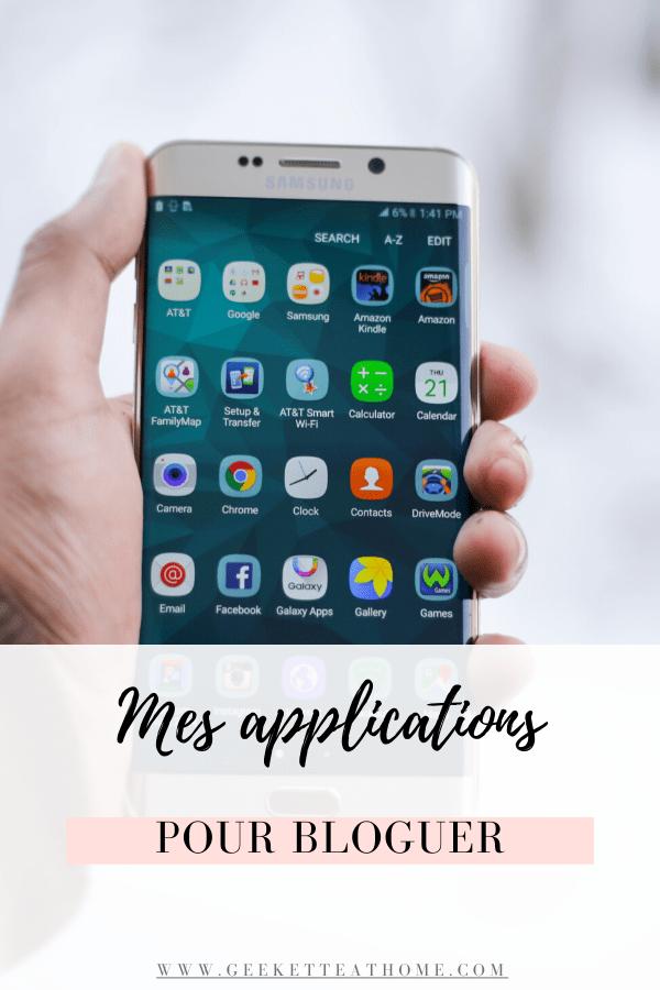 mes applications blogging préférées