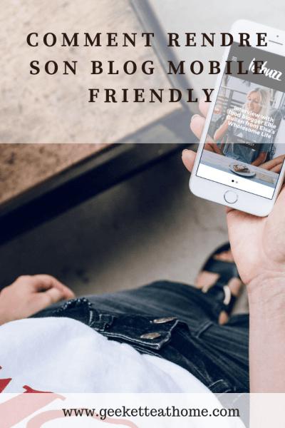 Comment rendre son blog mobile friendly