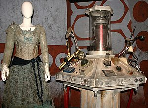 Idris' Dress & the Bodged TARDIS Console