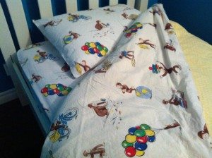 Curious George Bedding.