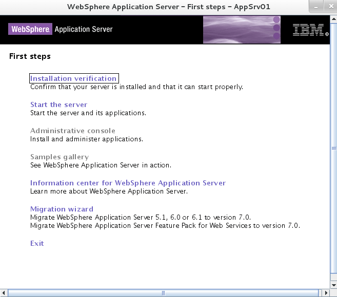 Enable Application Security Websphere 8