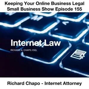 Richard Chapo Internet Attorney Interview