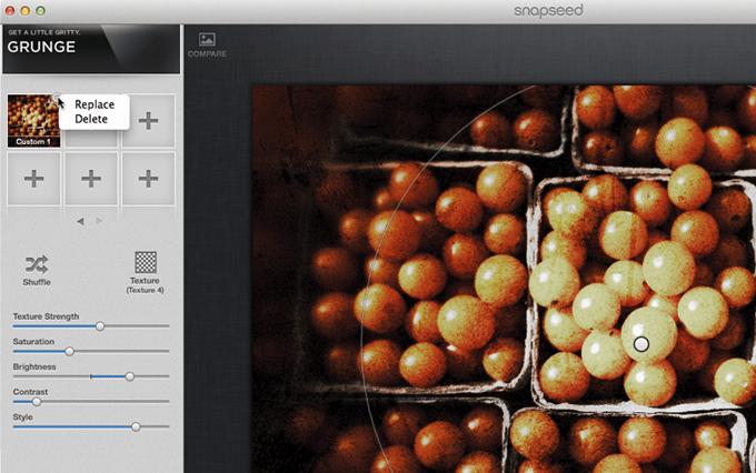 Snapseed on desktop