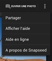 The share menu on Android.