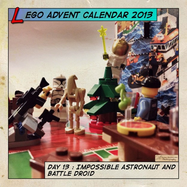 LEGO Advent Calendar 2013 day 13