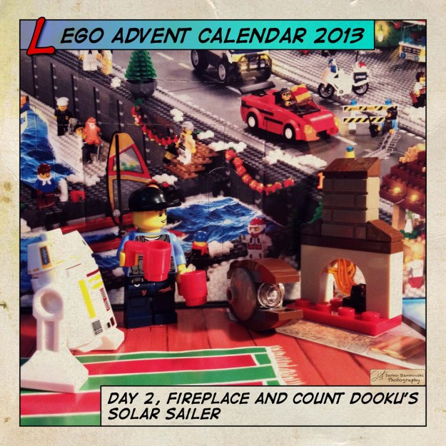 LEGO Advent Calendar 2013 day 2