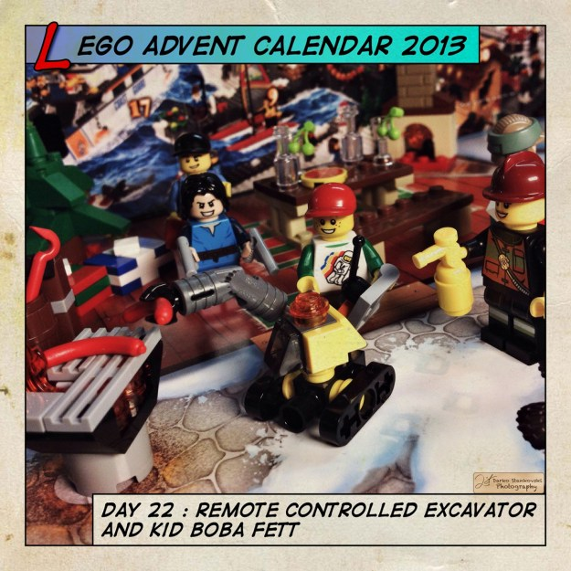 LEGO Advent Calendar 2013 day 22
