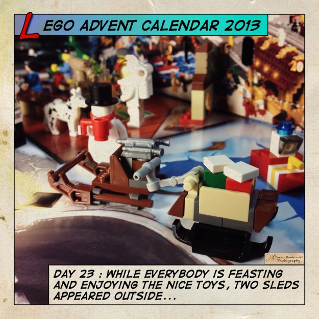 LEGO Advent Calendar 2013 day 23