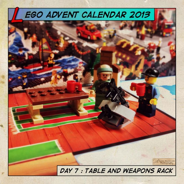 LEGO Advent Calendar 2013 day 7