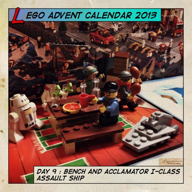 LEGO Advent Calendar 2013 day 9