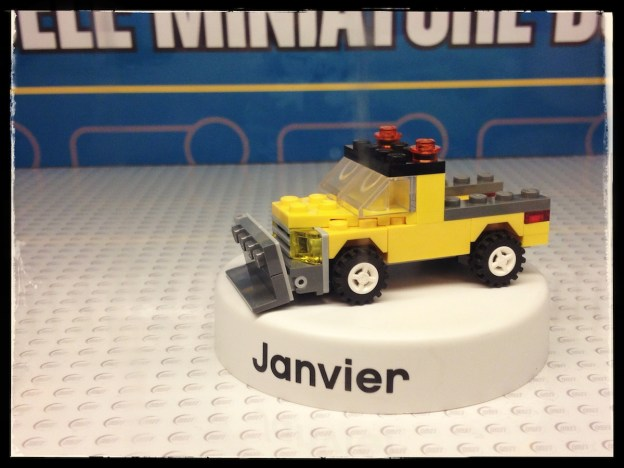 LEGO 40094 snowplough